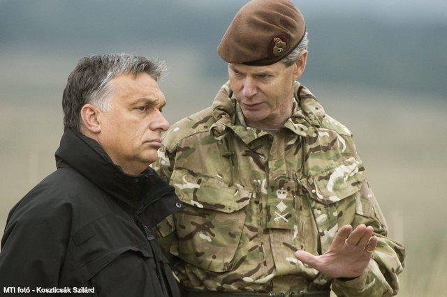 Orbán modern hadsereget építene