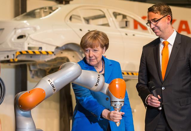 Megszerezték az irányítást a kínaiak a német robotgyártóban