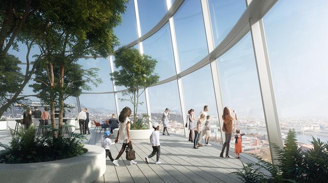 A Parlamentnél is magasabb lesz a Mol új felhőkarcolója