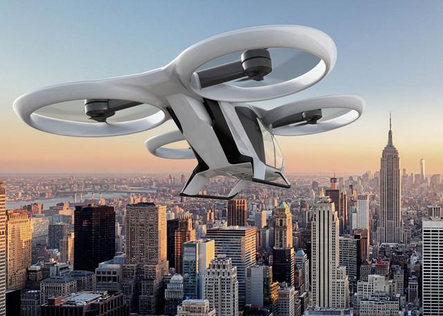 Jövőre felszállhatnak az első repülő taxik