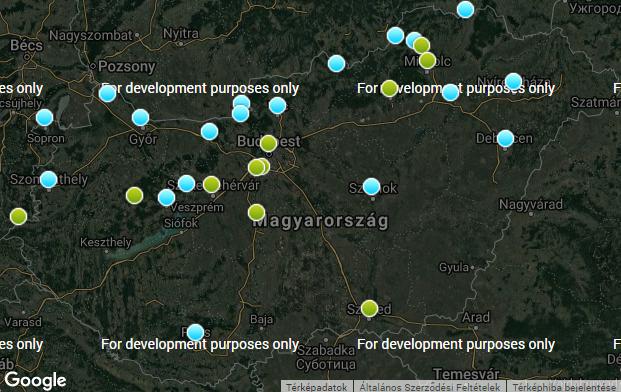 Baj van több magyarországi város levegőjével