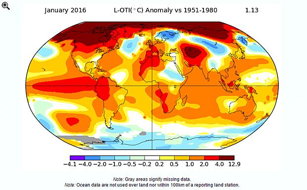 Egyetlen sokkoló ábra a globális felmelegedésről