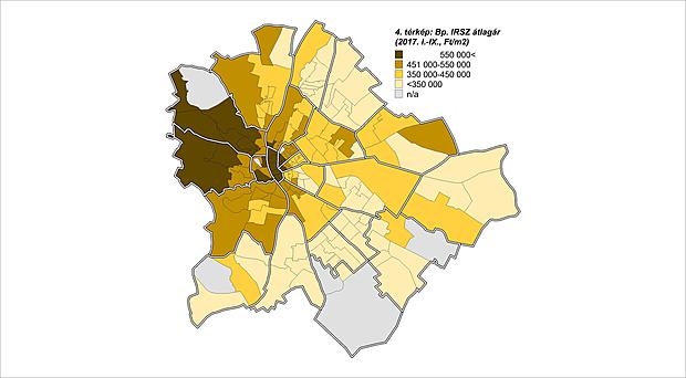 Térképen az ország lakásárai - A te lakásod mennyit drágult idén?