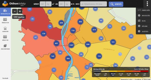 budapest ingatlan térkép Budapest legdrágább és legolcsóbb városrészei   Itt a lista  budapest ingatlan térkép