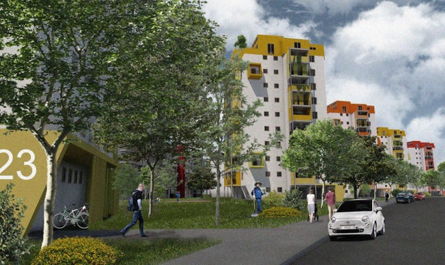 Egy budapesti lakótelep mutathatja az irányt a panelfelújításokhoz