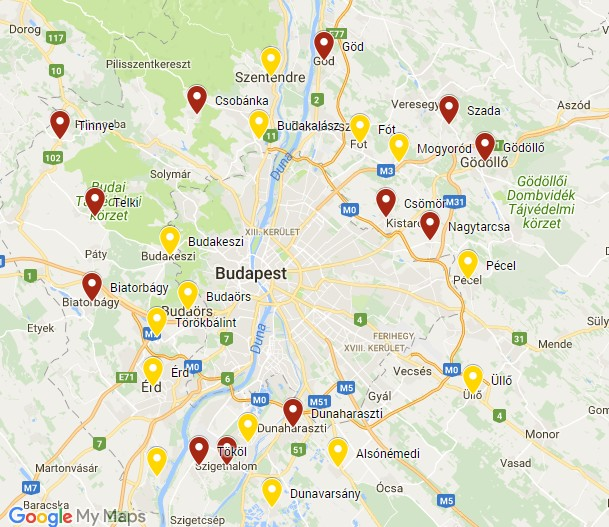 Felrobban az agglomeráció - Ezeket a településeket árasztják el a betelepülők