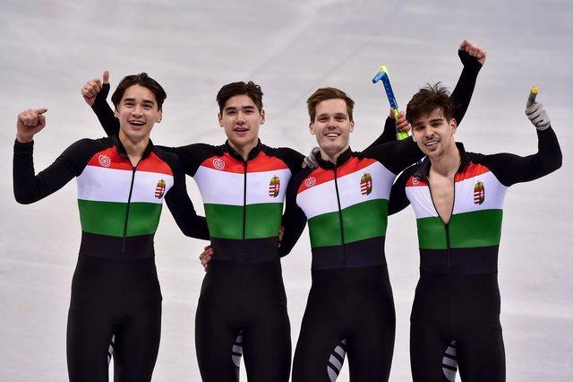 Megvan Magyarország történetének első téli olimpiai aranyérme