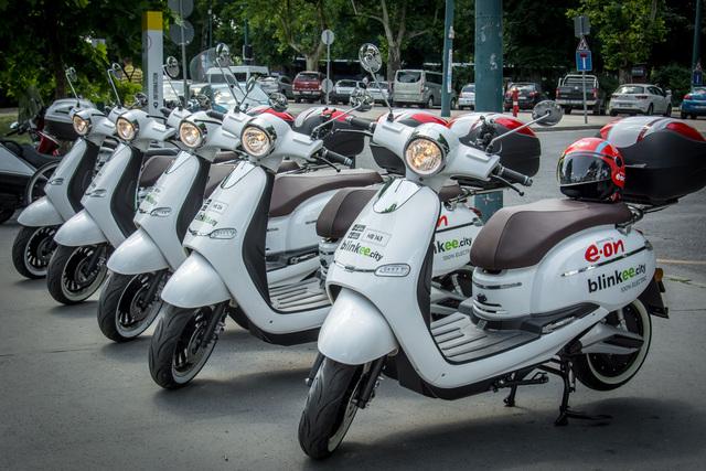 Új közlekedési forma jelenik meg Budapesten