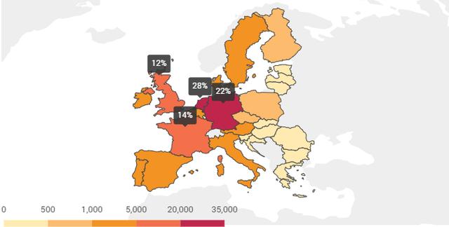 Remek interaktív térkép arról, miért fontos a töltőhálózat fejlesztése