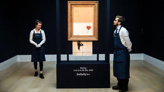 Az önmegsemmisítő Banksy-mű és ami mögötte van