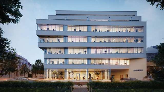 25 ezer négyzetméternyi iroda épül a Váci úti folyosón