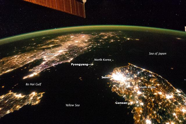 Egy fekete lyuk terpeszkedik Dél-Korea fölött