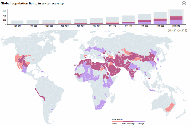 Súlyos vízválság fenyeget, milliárdok élete kerülhet veszélybe