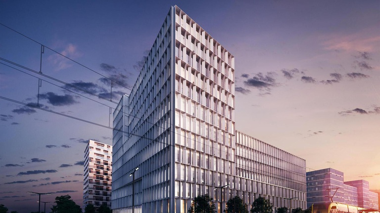 Akár egy hónapra is lehet irodát bérelni a dél-budai projektben