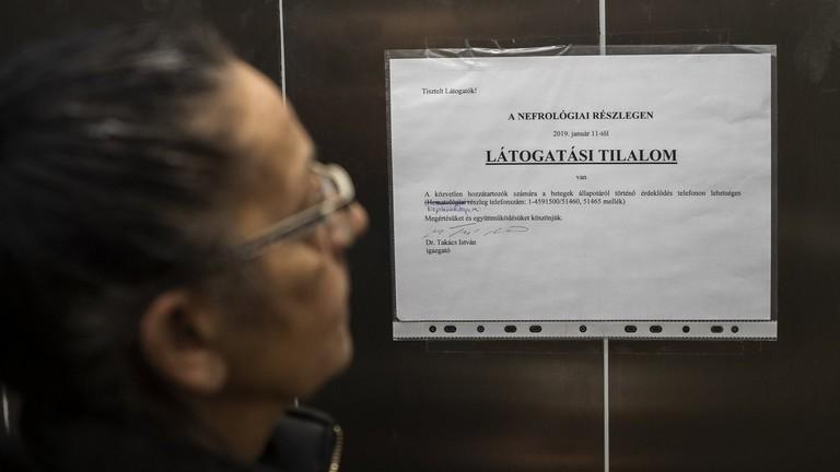 Figyelmeztet az NNK: megkezdődött a járvány Magyarországon