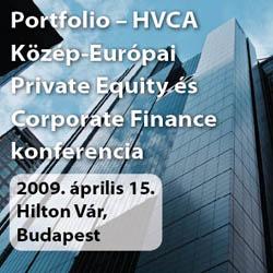 Portfolio - HVCA Közép-Kelet Európai Corporate Finance és Private Equity 2009 Konferencia