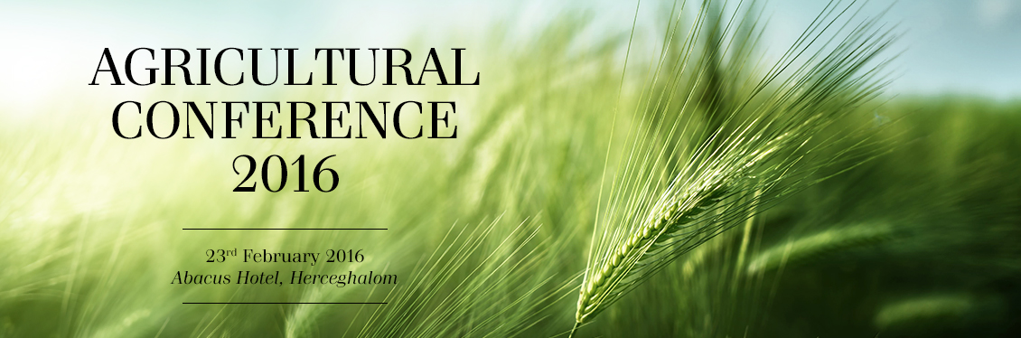 Agricultural Conference 2016