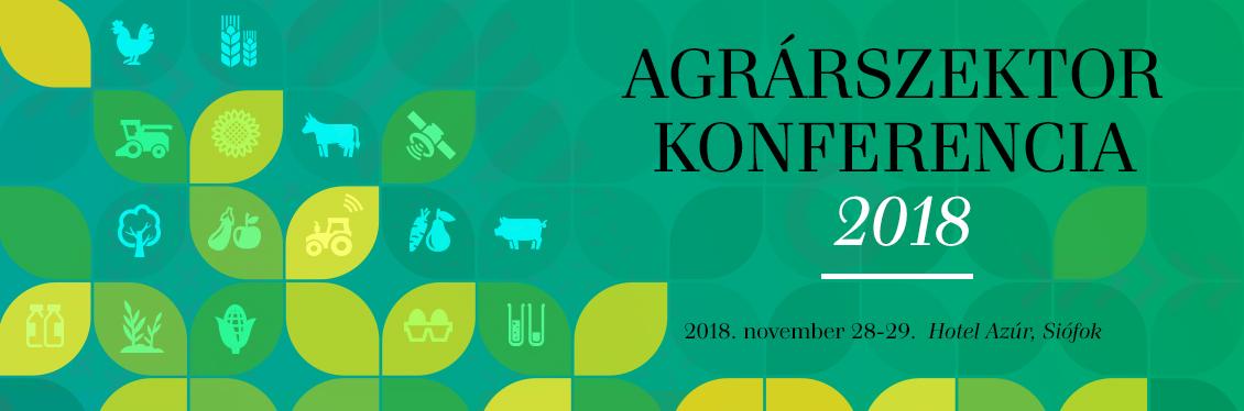 Agrárszektor Konferencia 2018