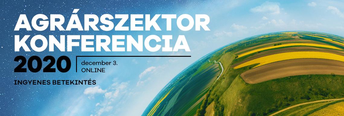 Agrárszektor Konferencia 2020 - Ingyenes Betekintés