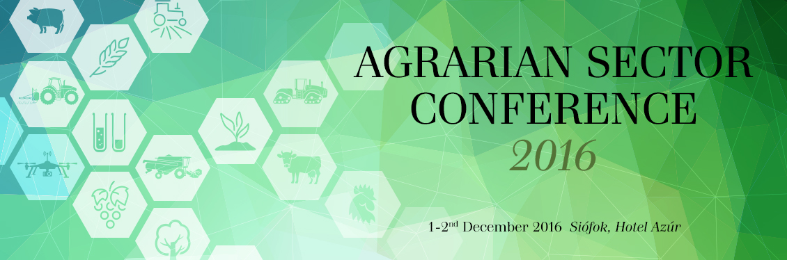 Agrarian Sector Conference 2016