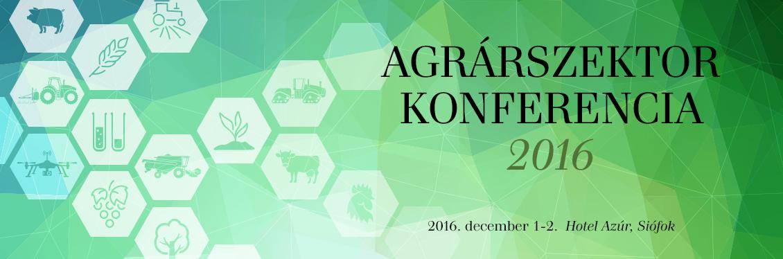 Agrárszektor Konferencia 2016