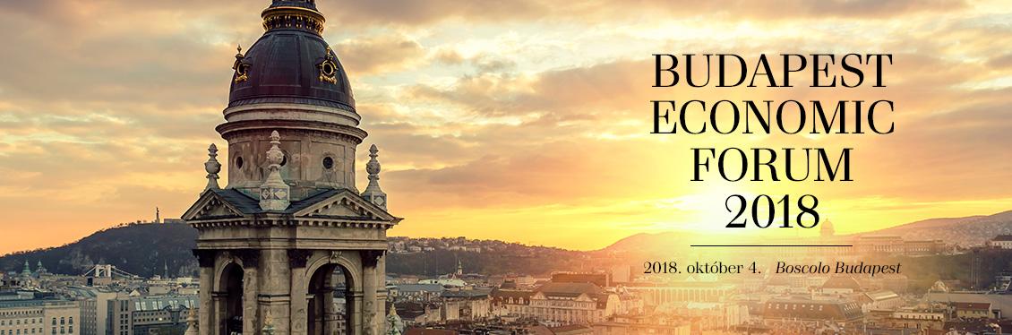 Budapest Economic Forum 2018