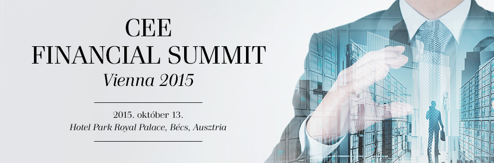 CEE Financial Summit 2015 - Bécs, Ausztria