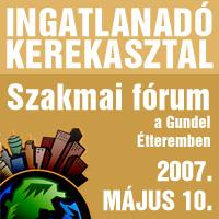 Ingatlanadó Kerekasztal 2007