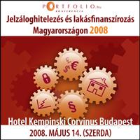 Jelzáloghitelezés és Lakásfinanszírozás Magyarországon 2008
