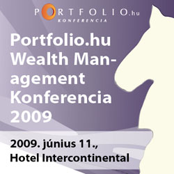 Portfolio.hu Wealth Management 2009 Konferencia