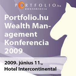 Portfolio.hu Wealth Management 2009 Konferencia