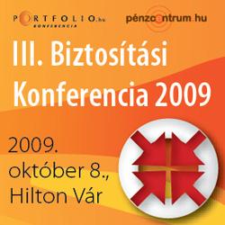 Portfolio.hu Biztosítási konferencia 2009