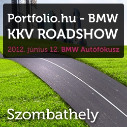 Portfolio.hu - BMW KKV Roadshow - Szombathely