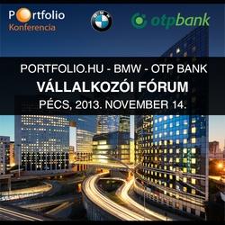 Portfolio.hu - BMW - OTP Bank Vállalkozói Fórum - Pécs