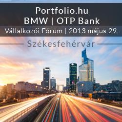 Portfolio.hu - BMW - OTP Bank Vállalkozói Fórum Székesfehérvár