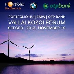 Portfolio.hu - BMW - OTP Bank Vállalkozói Fórum - Szeged