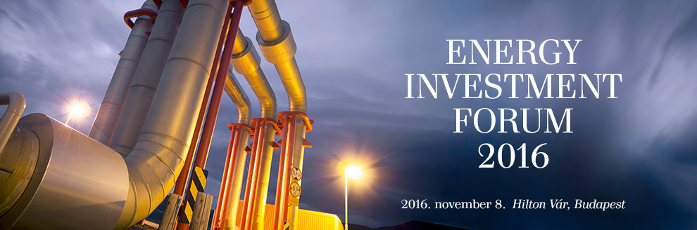 Energy Investment Forum 2016