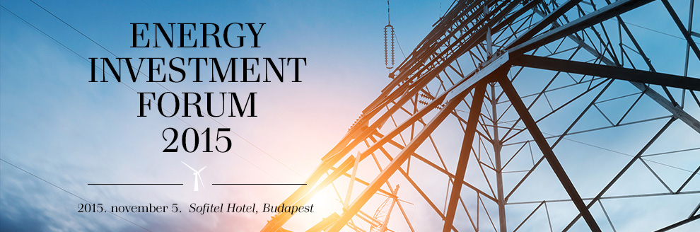Energy Investment Forum 2015