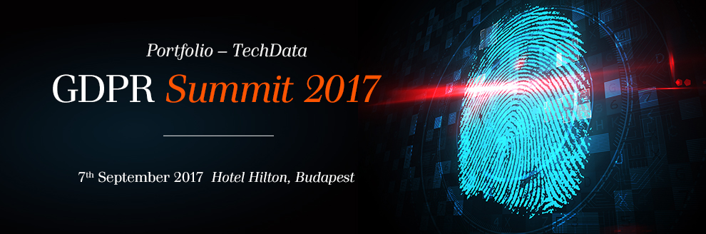 Portfolio-TechData GDPR Summit 2017