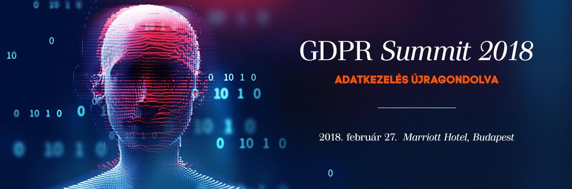 GDPR Summit 2018