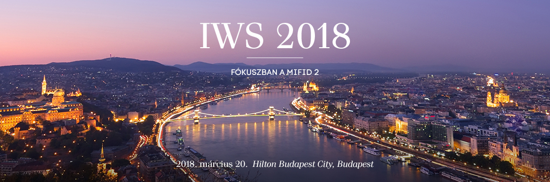 Investment, Wealth and Savings (IWS) 2018