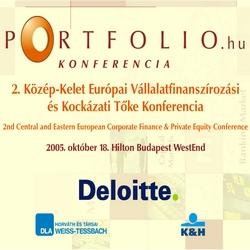 2. Közép-Kelet Európai Vállalatfinanszírozási és Kockázati Tőke Konferencia