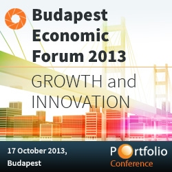 Budapest Economic Forum 2013 - Growth and innovation