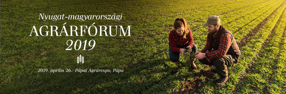 Nyugat-magyarországi Agrárfórum 2019