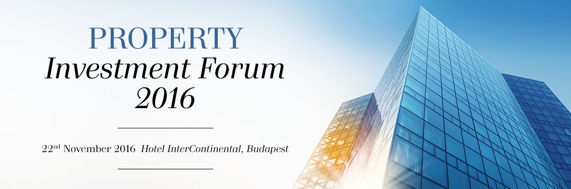 Property Investment Forum 2016