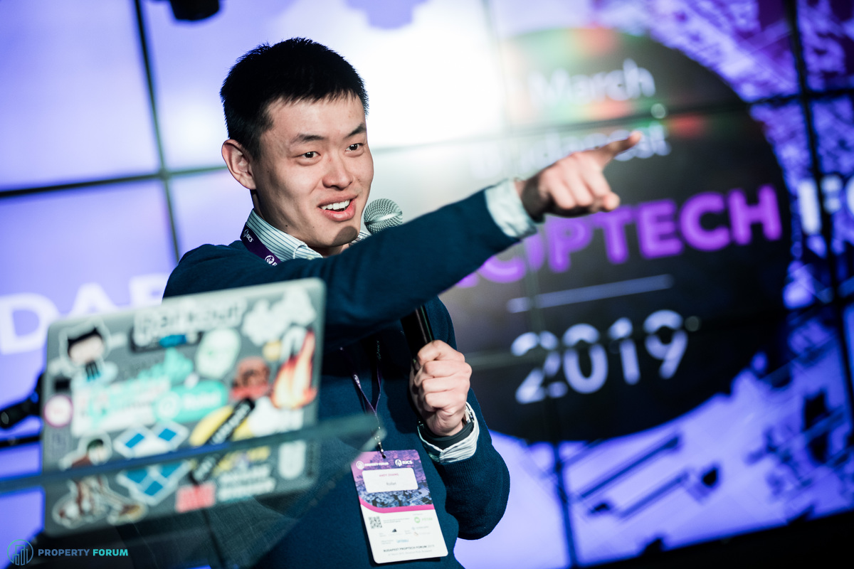 Start-up pitches: Andy Zhang (Rollet)