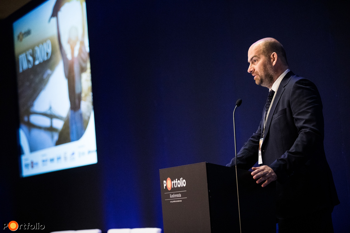 Bán Zoltán, a Portfolio vezérigazgatója köszöntötte a részvevőket
