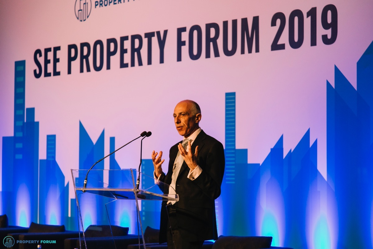 Simon Rubinsohn (RICS) spoke about the European real estate landscape