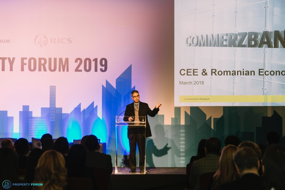 Tatha Ghose (Commerzbank AG) gave an economic outlook for Romania and SEE