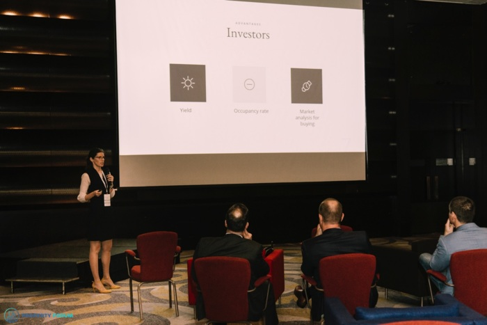 Start-up pitches: Laura Baciu (The Estate)